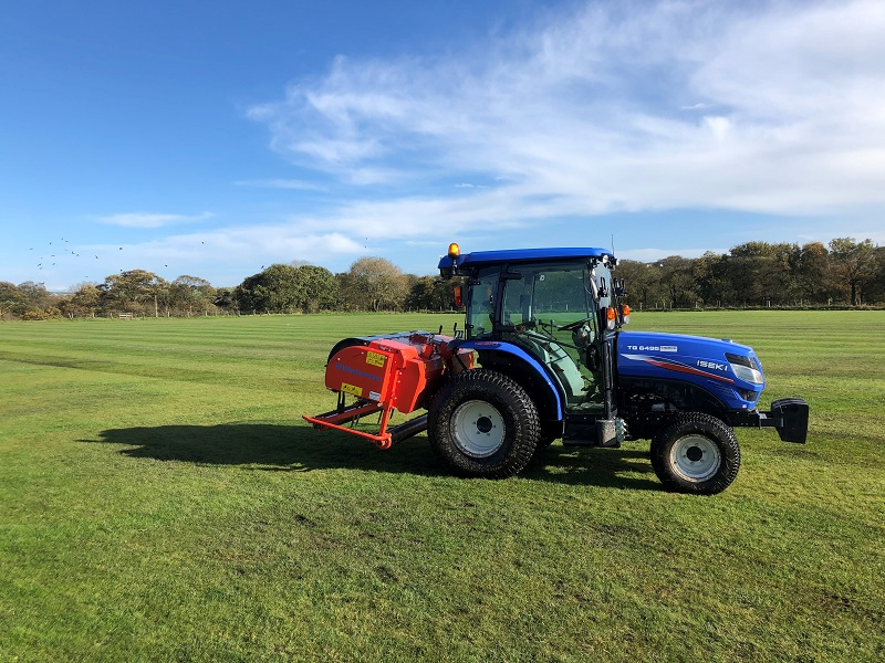 Wiedenmann GXi8 HD central to maintenance plans for for Brinscall Village Juniors FC