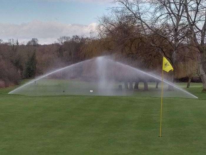 Bush Hill Park invests in irrigation renovation