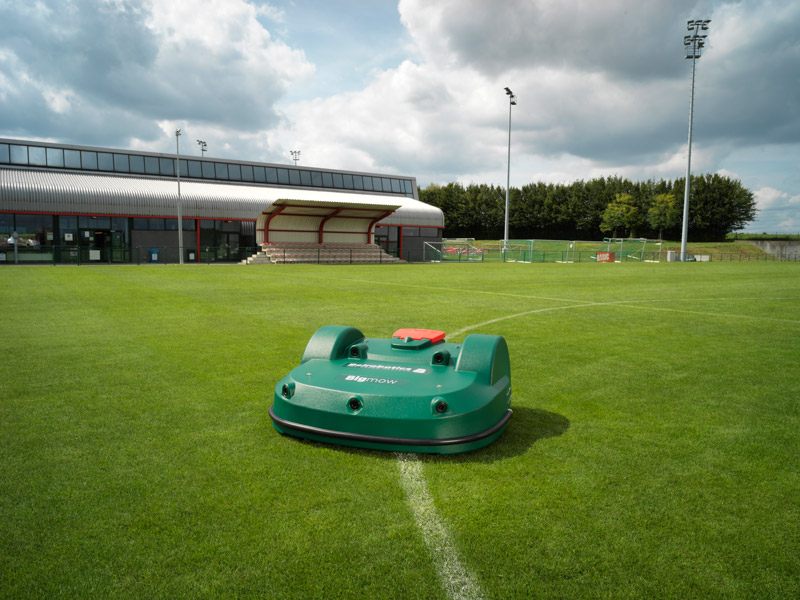 AMS scores with pitch care mowing