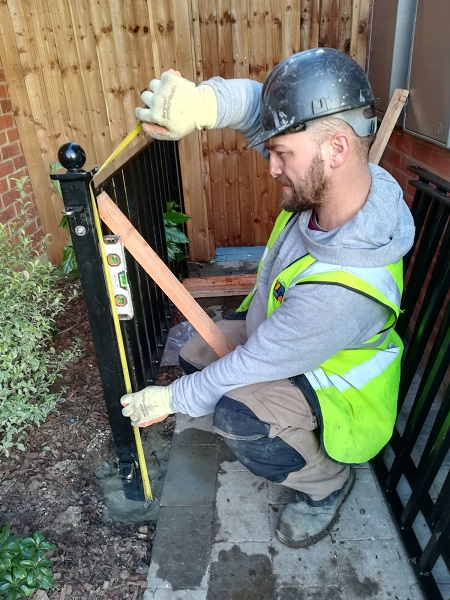 Former bomb disposal expert joins metal railings manufacturer