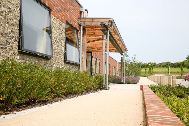 Bituchem creates landscape for Pimperne primary School