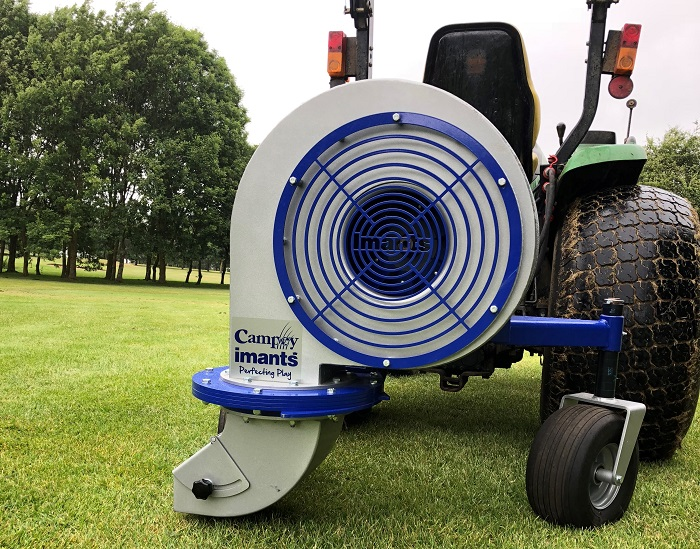 Debris clearance enhanced with the new Imants RotoBlast