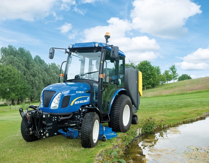 New Holland showcases compact tractor and mini excavator ranges