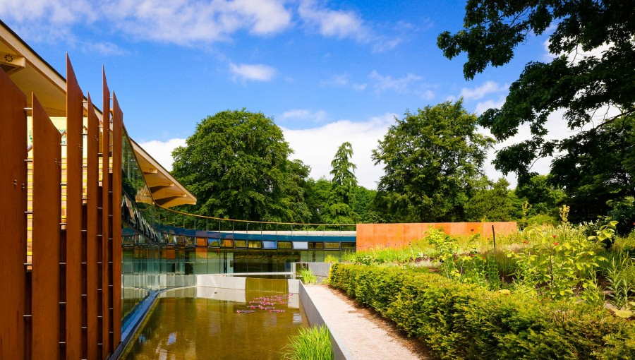 Firestone's PondGard​ makes a splash at Royal Botanic Garden Edinburgh