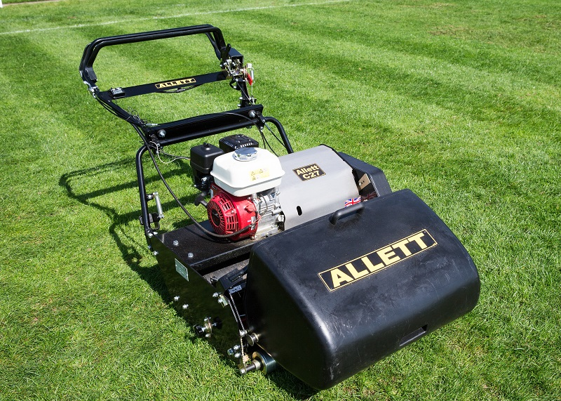 Allett cuts it with new C27 cylinder mower