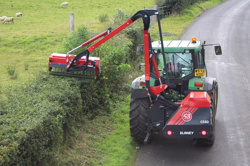 Hedgecutting innovations from Blaney on display at LAMMA