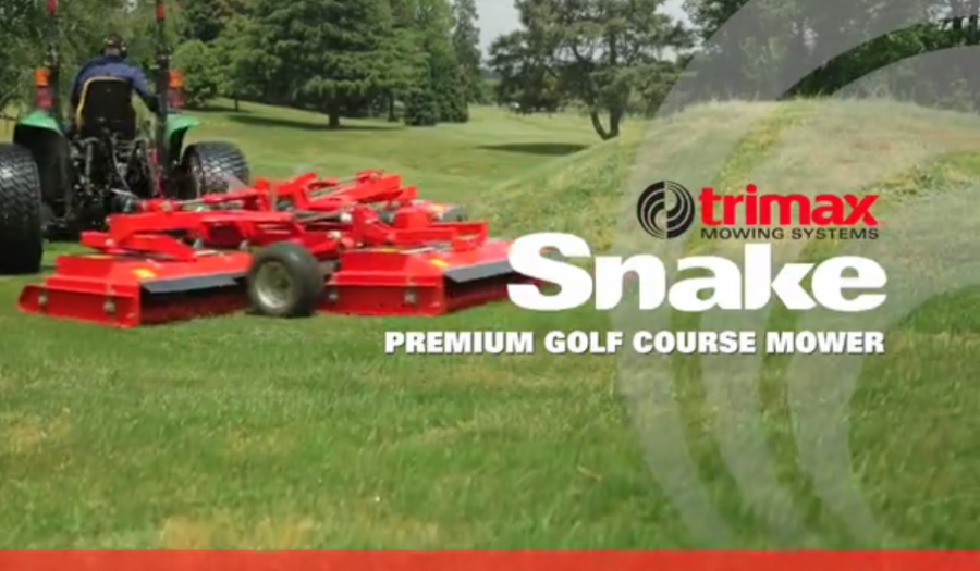 Watch The Incredible Trimax Snake High Quality Turf Mower