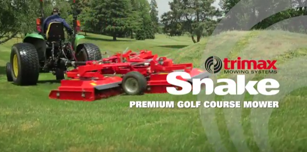 The Incredible Trimax Snake High Quality Turf Mower