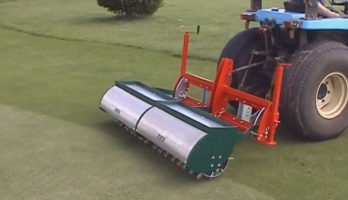 BMS - Sarel Aeration Turf Spiker 2m wide Tractor or Truckster Mounted