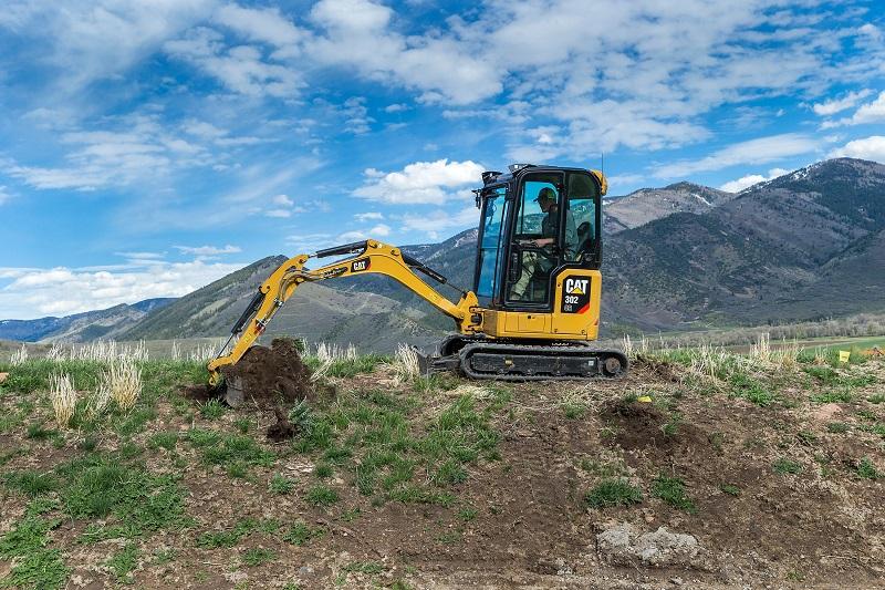Next generation Cat mini excavators unveiled