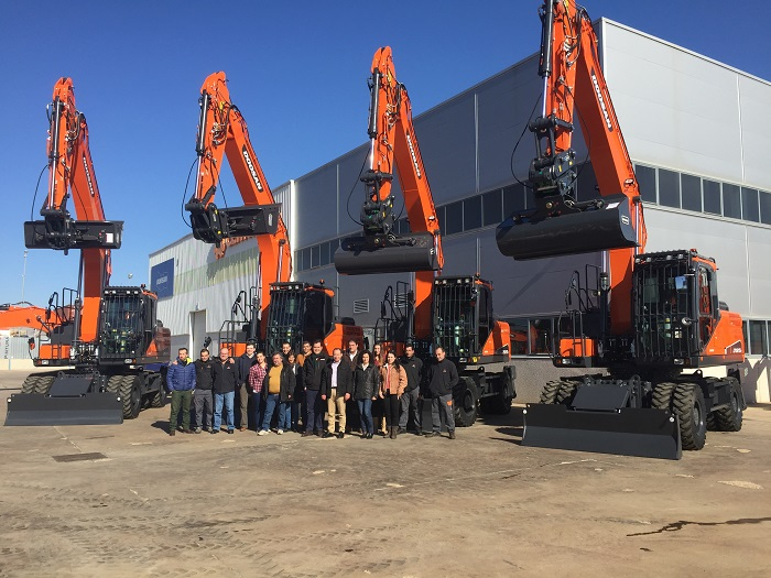 Centrocar and Doosan supply new equipment to Tragsa
