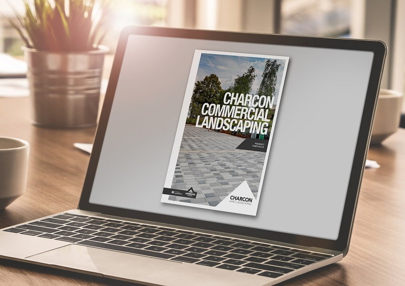 Charcon showcases hard landscaping offering in new downloadable brochure