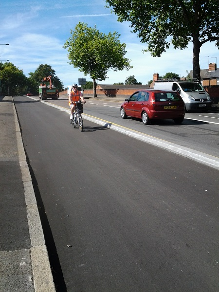 Charcon partners with councils to segregate traffic and cyclists