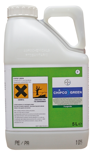 Chipco Green to be withdrawn from the market