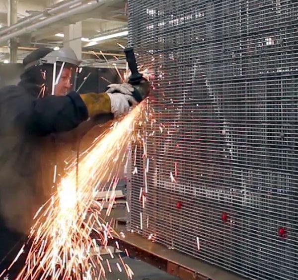 Zaun unveils corrugated 10-minute fence