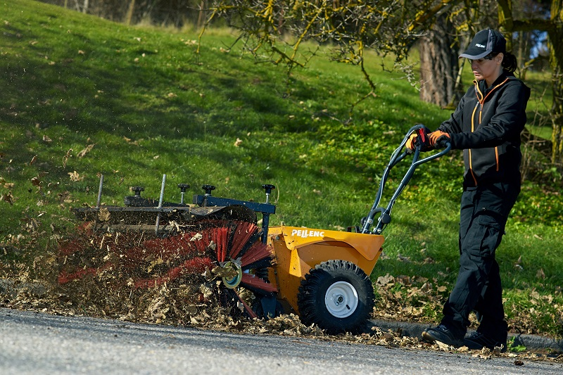Pellenc Launches Cleanion Battery-Powered Brush