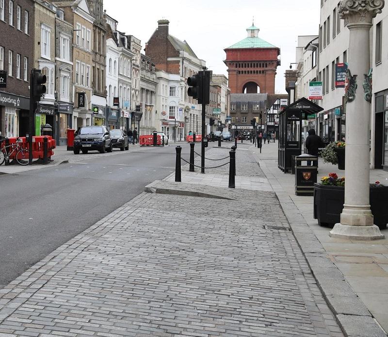 Resiblock futureproofs Britain's oldest high street