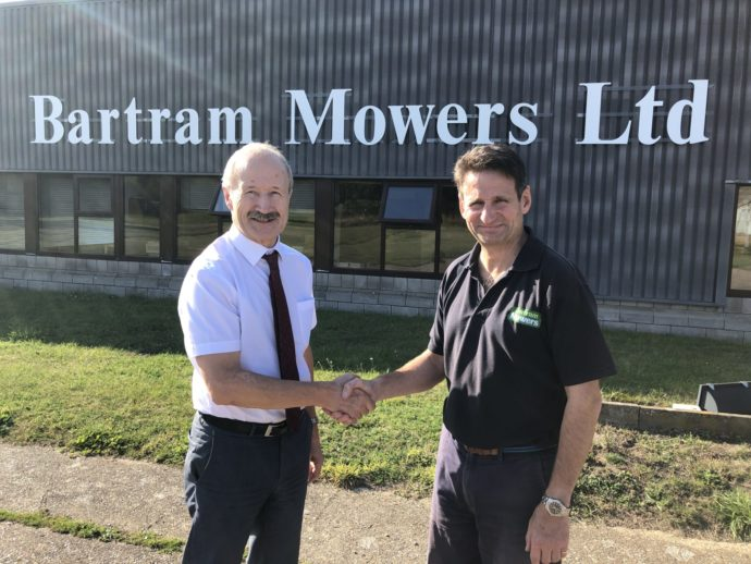 Ernest Doe & Sons acquires Bartram Mowers