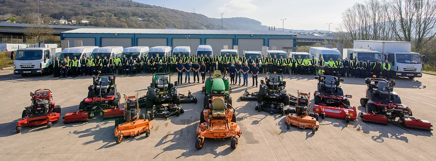 Countrywide Grounds business boosts workforce in South Wales
