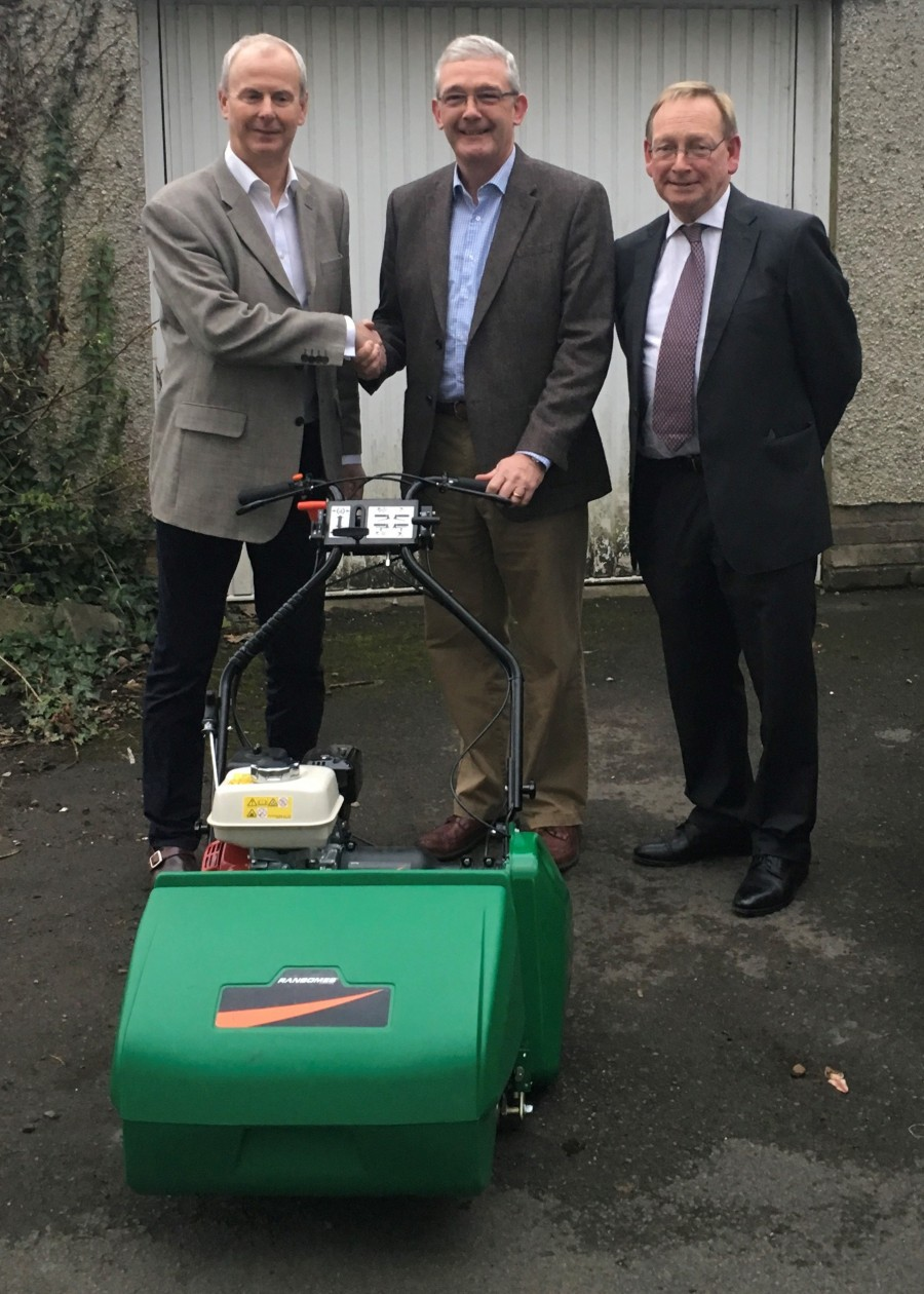 Ransomes helps burgled Cowbridge Cricket Club