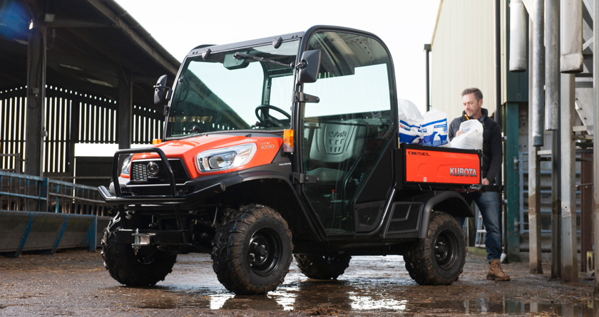 Kubota UK unveils its new RTV-X1110