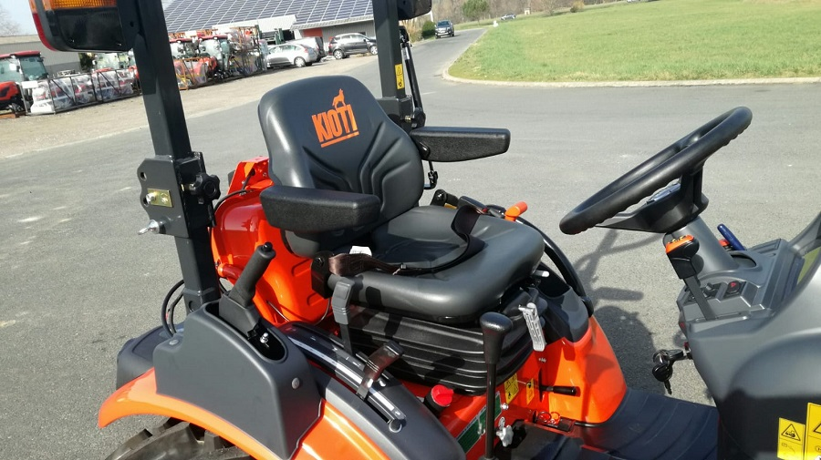 New CX2510 high comfort with a capital K for Kioti