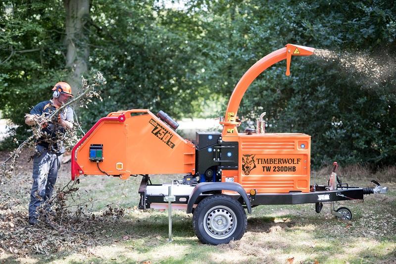 Dedham Vale Tree Surgery chooses Timberwolf