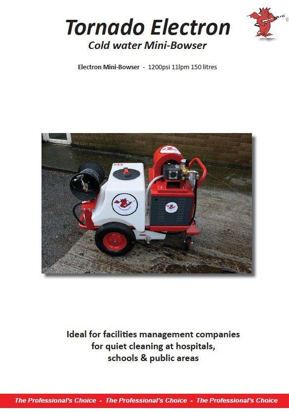 Demon International to showcase battery powered pressure washers