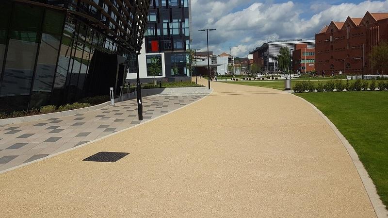 De Montfort University enrols Aggregate Industries for first class work