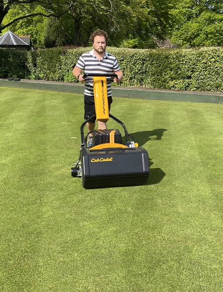 INFINICUT and TMSystem combination prove the perfect match for Wantage Bowling Club