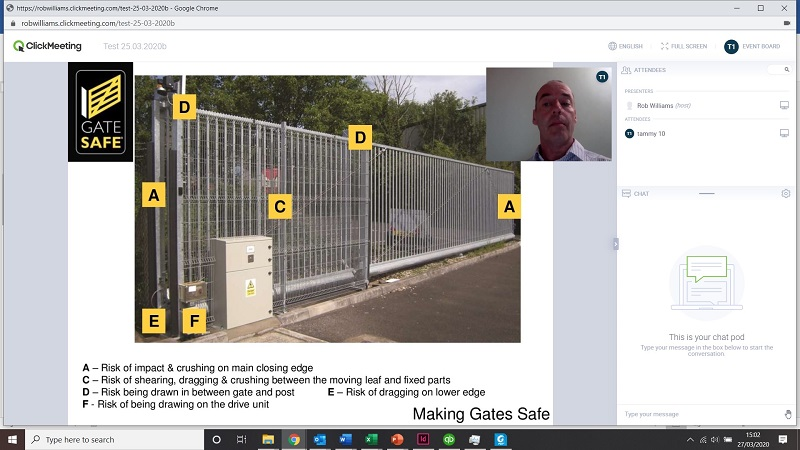 Gate Safe launches distance learning training module