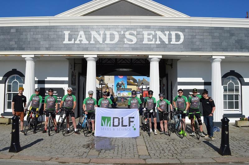 DLF quintet join team on epic bike ride