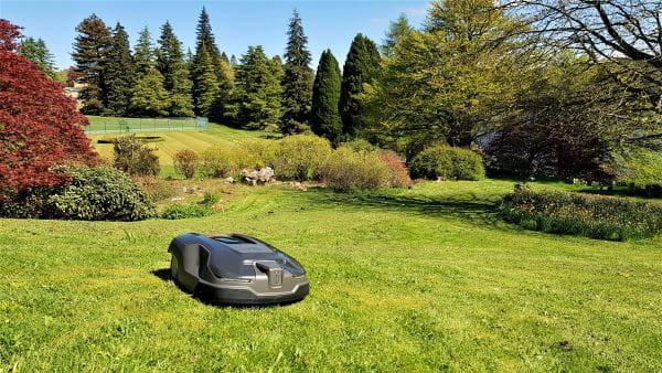 Husqvarna Automower robotic lawn mowers maintain estate