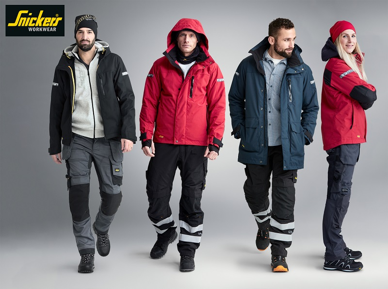Snickers Workwear new high-performance ALLroundWork jackets