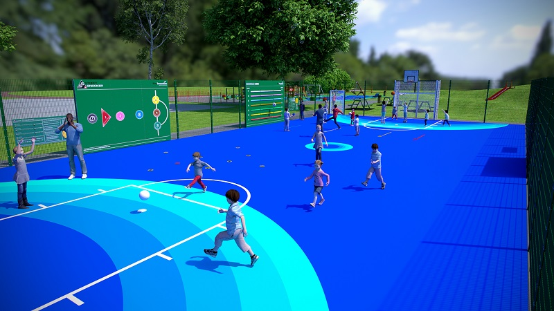Say goodbye to ordinary ball courts