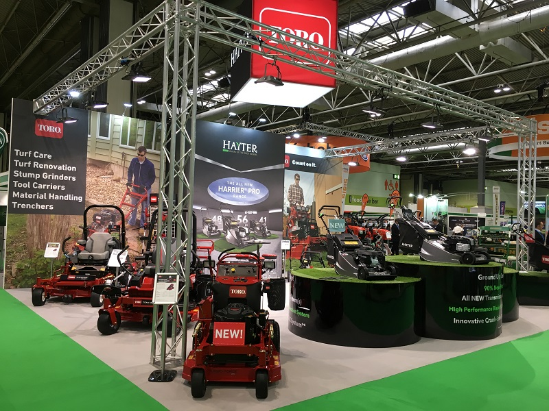Toro and Hayter to reveal new products