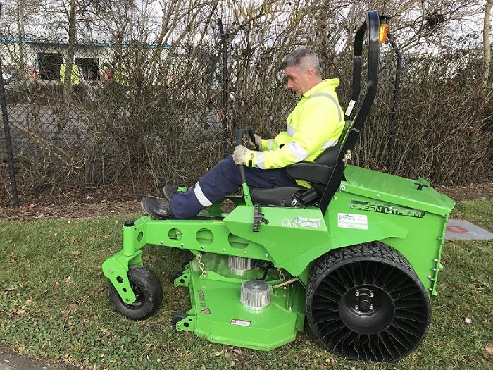 Tweel wheels for Mean Green Electric Mowers