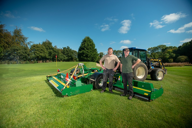 Major Tri-Deck slashing mowing rates at Royal Tara GC
