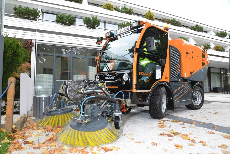 Holder completes range of sweeping machines