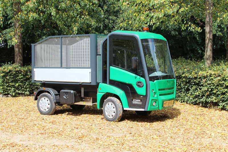 New electric trucks on display with Overton