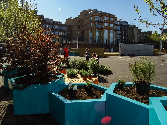 MEDITE TRICOYA EXTREME helps create urban oasis in London Bridge