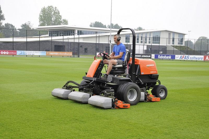 AZ Alkmaar maintain new training ground with Jacobsen