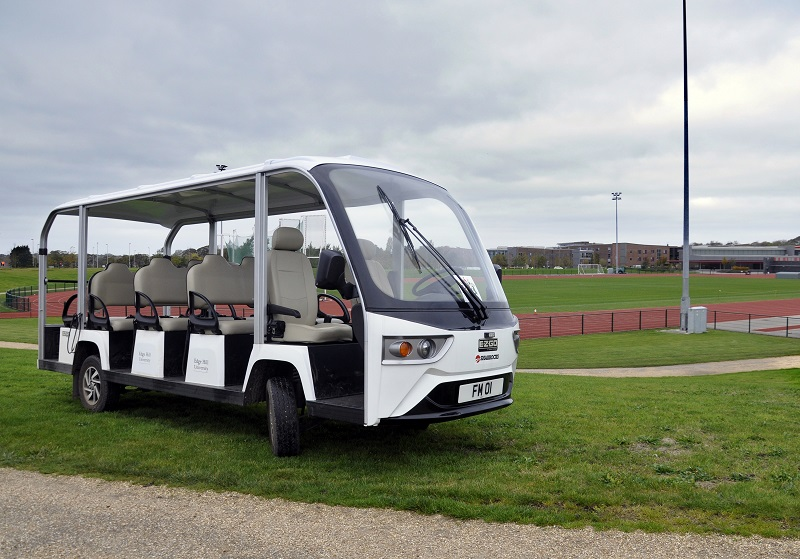 University purchase first E-Z-GO 14-seater in UK