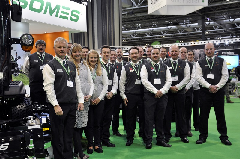 SALTEX a success for Ransomes
