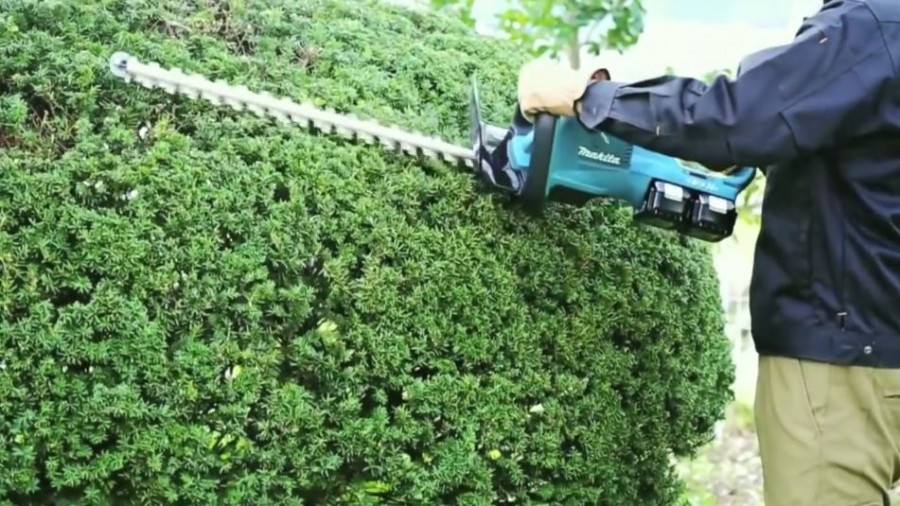 Makita Twin 18v Hedge Trimmer DUH551
