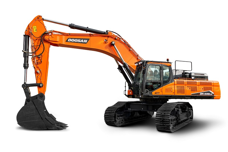 New Doosan DX490LC-7 & DX530LC-7 Stage V excavators