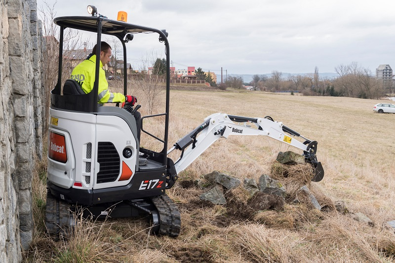 Bobcat launches new E17Z zero tail swing excavator