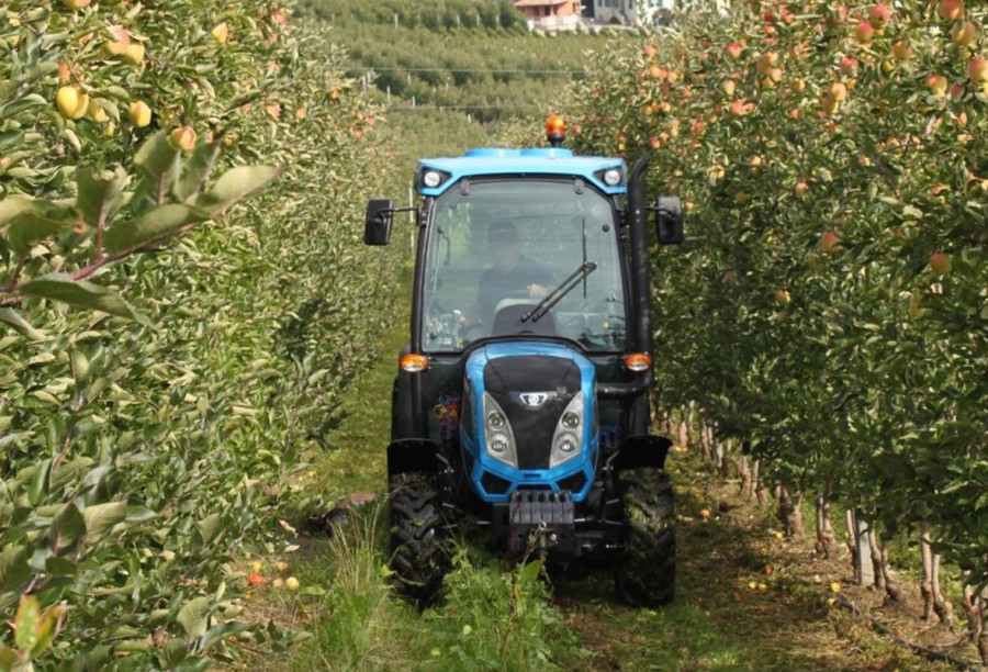All-new Landini Rex 4 Series tractors at the LAMMA show