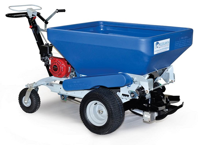 ECOLAWN ECO250 top dresser introduced by Blade Machinery