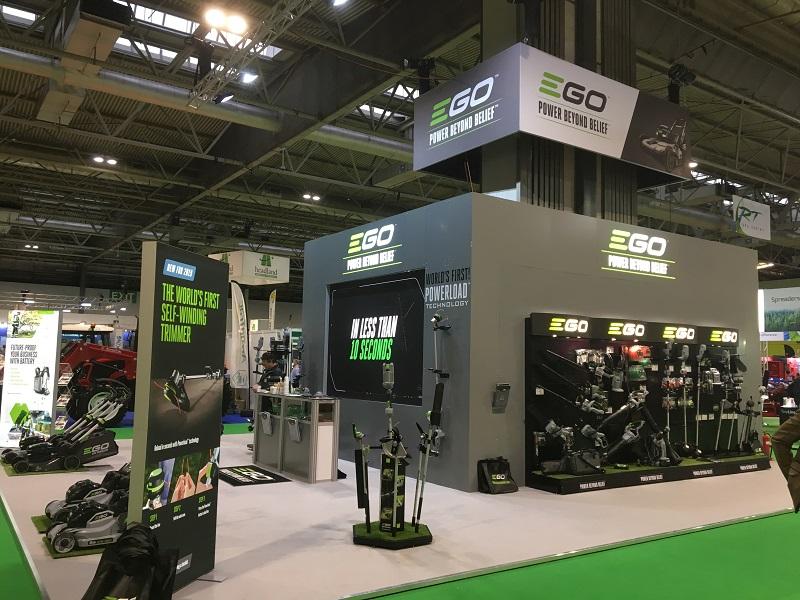 EGO showcases latest zero-emission products